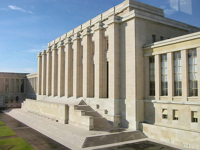 UN Gebaude Genf - Sonderberichterstatter