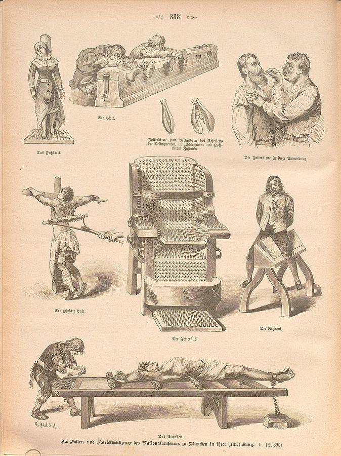 Folterwerkzeuge 1 - Die Antifolterkonvention und der UN-Zivilpakt