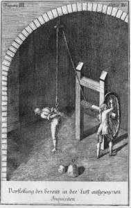 Folter durch Hochziehen - Constitutio Criminalis Theresiana 1768