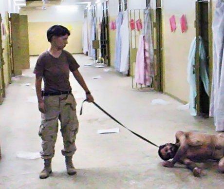 Abu Ghraib - Grausame, unmenschliche oder erniedrigende Behandlung oder Strafe